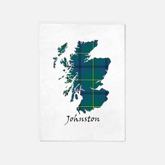 Map - Johnston 5'x7'Area Rug