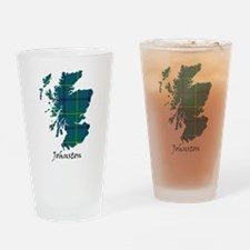 Map - Johnston Drinking Glass