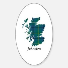 Map - Johnston Decal