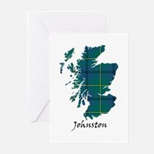 Map - Johnston Greeting Cards (Pk of 10)