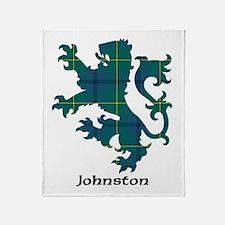 Lion - Johnston Throw Blanket