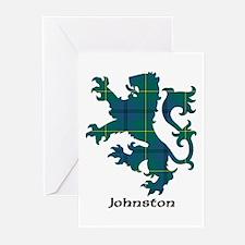 Lion - Johnston Greeting Cards (Pk of 10)