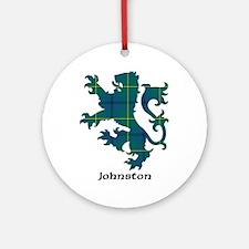 Lion - Johnston Ornament (Round)
