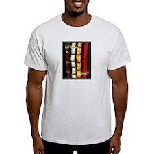 Lei Hulu Ash Grey T-Shirt