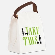 Merch Logo - White Canvas Lunch Bag