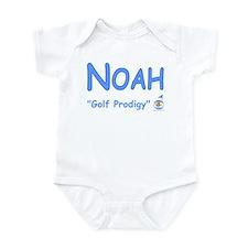 "Personalized Boy's ""Golf Prodigy"" Infant Bodysuit"