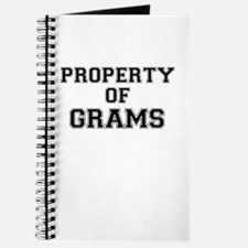 Property of GRAMS Journal