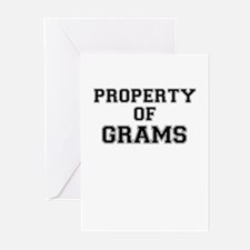Property of GRAMS Greeting Cards