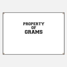 Property of GRAMS Banner