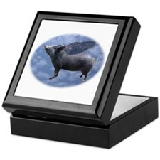 Flying Pig Keepsake Box