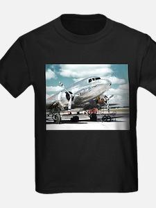 United DC-3 Ash Grey T-Shirt