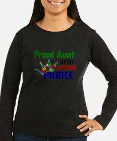 Proud Of My Autistic Prince Long Sleeve T-Shirt