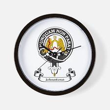 Badge - Johnstone Wall Clock