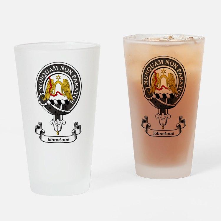 Badge - Johnstone Drinking Glass