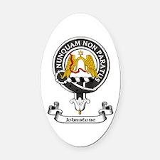 Badge - Johnstone Oval Car Magnet