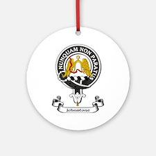 Badge - Johnstone Ornament (Round)