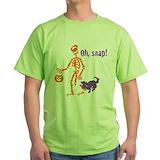 Halloween snap Green T-Shirt