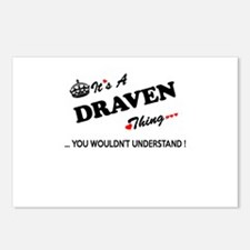 DRAVEN thing, you wouldn' Postcards (Package of 8)