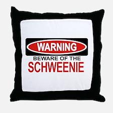 SCHWEENIE Throw Pillow