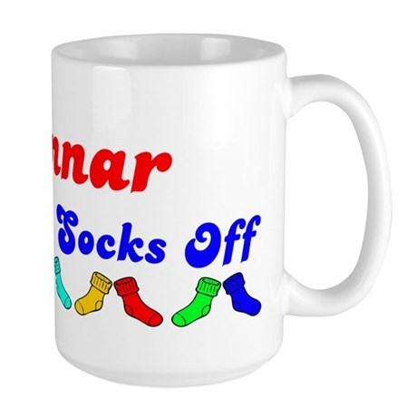 Gunnar Rocks Socks (B) Large Mug