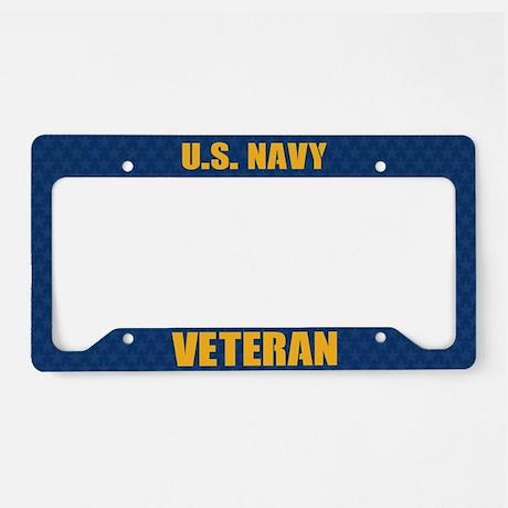 U.S. Navy Veteran License Plate Frames License Plate Frame