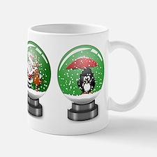Snow Globe Christmas Mugs