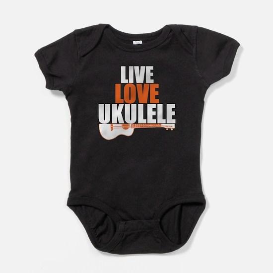Cool Ukulele Baby Bodysuit
