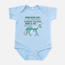 Unicorns Support Cervical Cancer Awarene Body Suit
