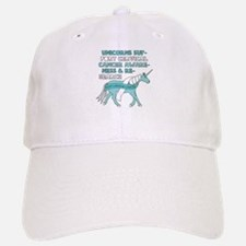 Unicorns Support Cervical Cancer Awareness Hat