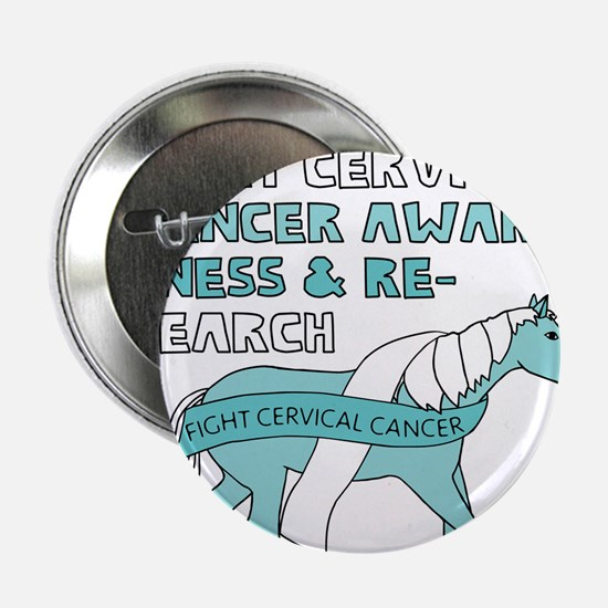 "Unicorns Support Cervical C 2.25"" Button (10 pack)"