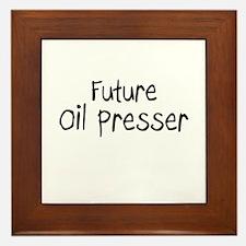 Future Oil Presser Framed Tile