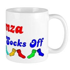 Hamza Rocks Socks (B) Small Mug