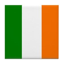 Irish Flag Tile Coaster