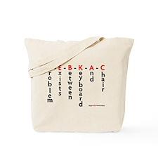PEBKAC Definition Misc Tote Bag