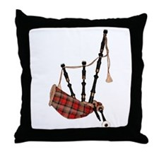 Bagpipes Throw Pillow