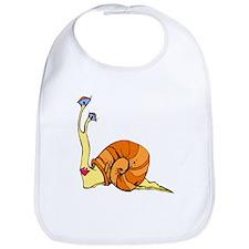 Kissylips Snail Bib
