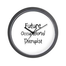 Future Occupational Therapist Wall Clock