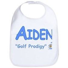 "Aiden ""Golf Prodigy"" Bib"
