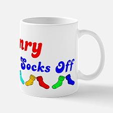 Henry Rocks Socks (B) Mug