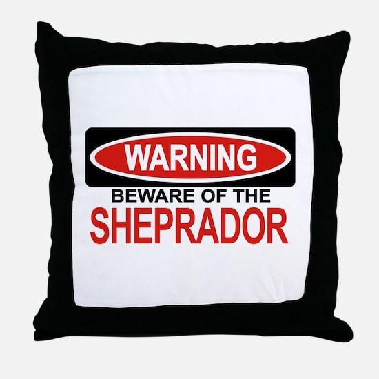 SHEPRADOR Throw Pillow