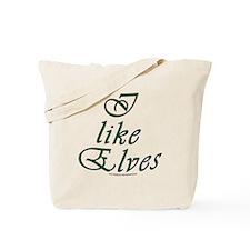 I like Elves Tote Bag