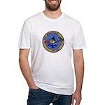 USS AMBERJACK Fitted T-Shirt