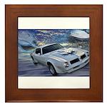 Trans Am Art 2 Framed Tile