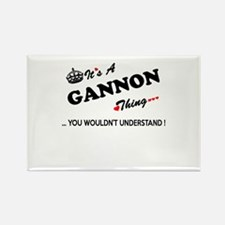 GANNON thing, you wouldn't understand Magnets