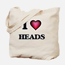 I love Heads Tote Bag