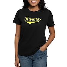Karma Vintage (Gold) Tee