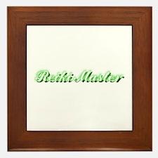 Reiki Master Framed Tile