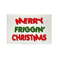 Merry Friggin' Rectangle Magnet
