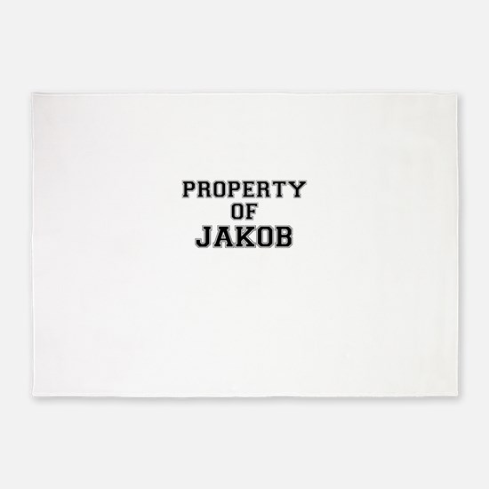 Property of JAKOB 5'x7'Area Rug