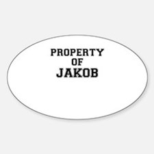 Property of JAKOB Decal